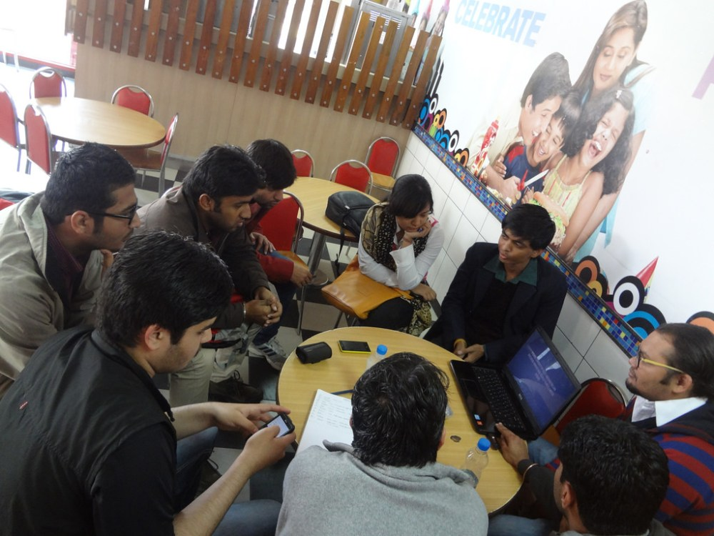 MozCafe With Enthusiastic Mozillians @ Jaipur (1/6)