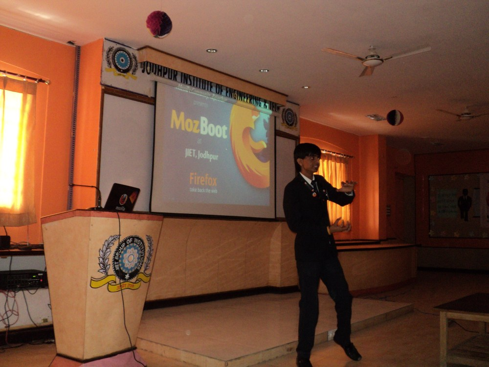 MozBoot @ JIET Jodhpur (3/6)