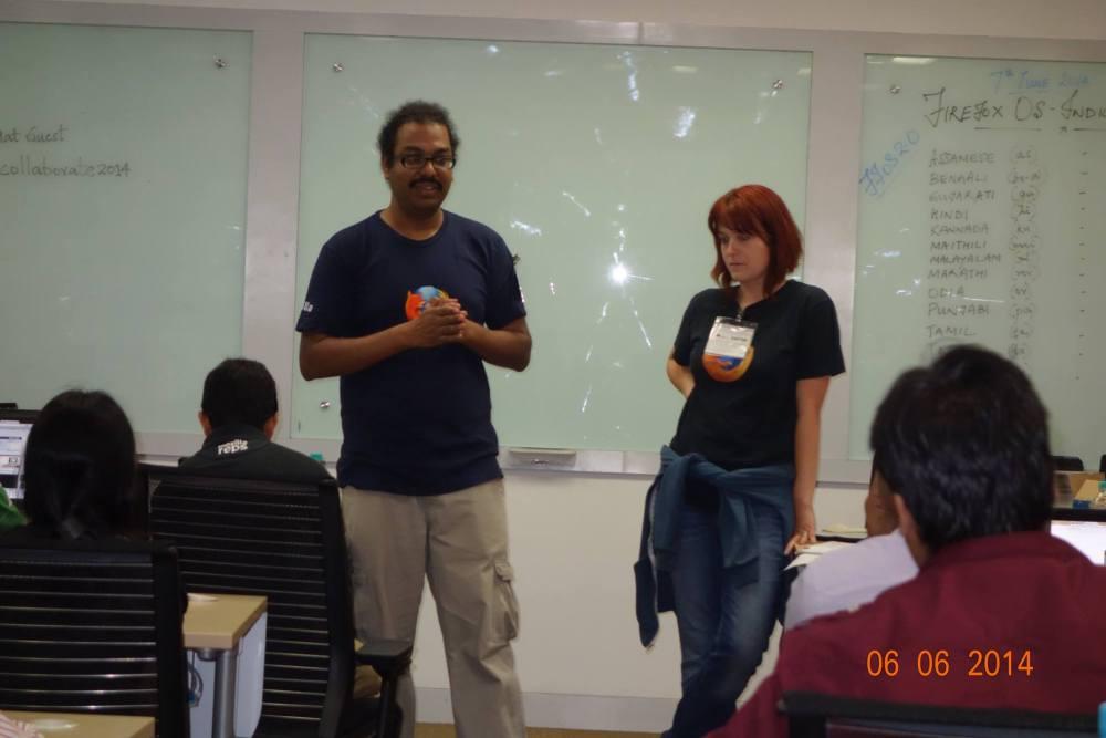 Indic Firefox OS Sprint Pune, June 2014 (2/6)