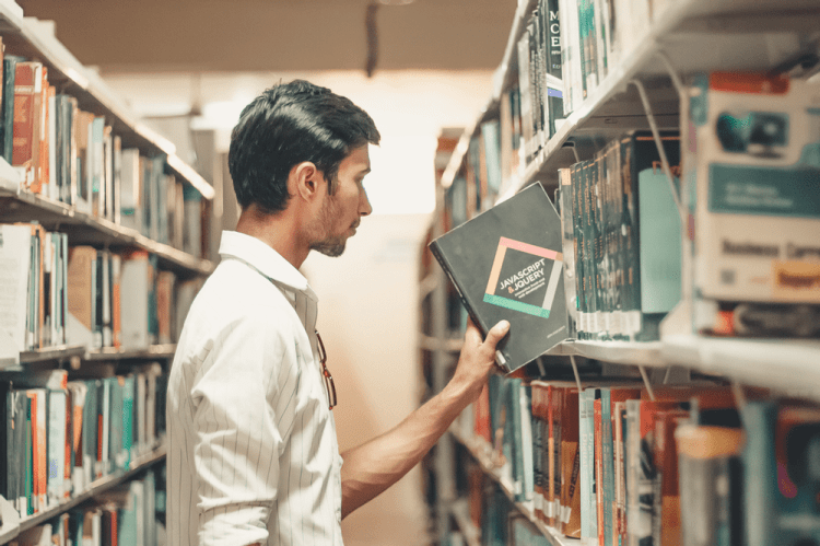 Spend time in a public library