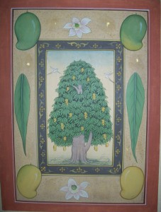 Mango Tree with detail b004
