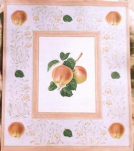 English Botanical Apple f010