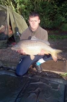 August catch 20lb 2oz common