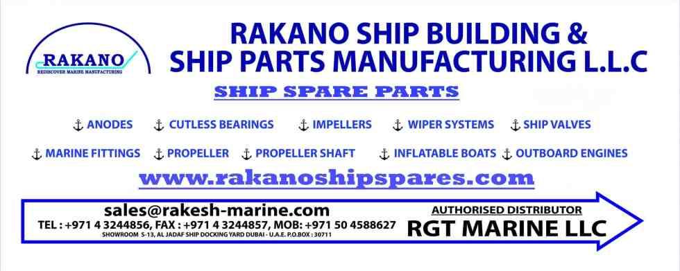 RGT Marine Ship Spare Parts