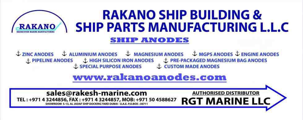 RGT Marine Ship Anodes