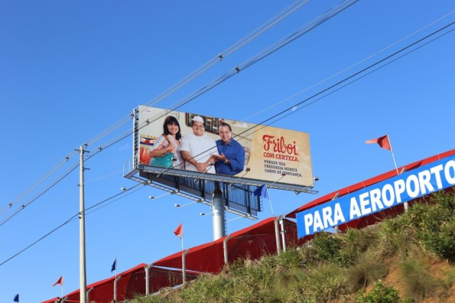 Billboard on the drive from Sao Paulo to Campinas.
