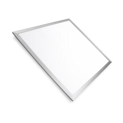 Светодиодная панель потолочная 600×600 мм серибристая рамка 40W 4100K EUROLAMP LED