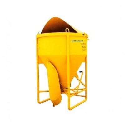 Бункер для бетона туфелька 1.5 м. куб.