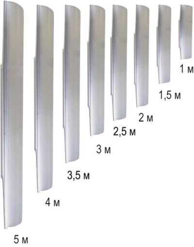 Профиль для виброрейки РВ-01