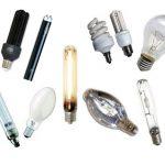 Электрические лампы для освещения