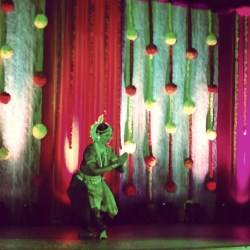 A Traditional Bharatanatyam Dancer