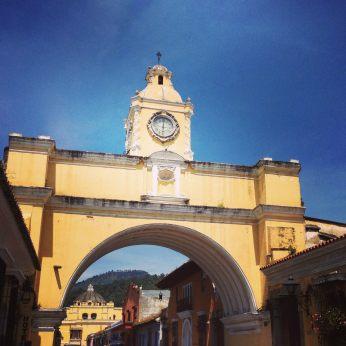 Archo of Santa Catalina