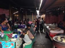 Family restaurants at Chichicastenango