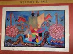 Murals at Chichicastenango