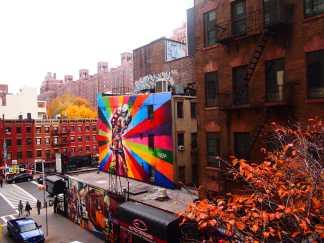 Artwork on the Highline