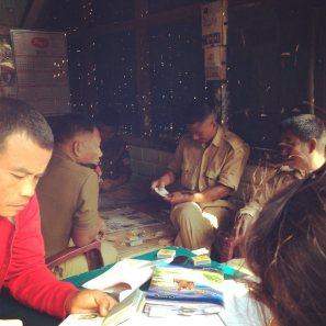 Playing Cards on the Naga Border