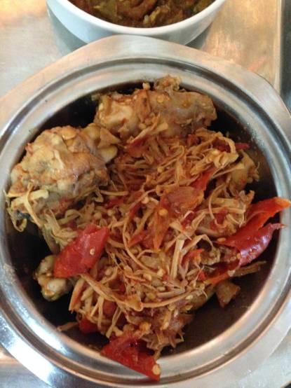 Delicious Naga Chicken in Bamboo Shoots