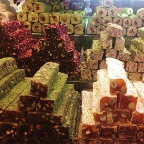 Turkish Delight at The Spice Bazaar