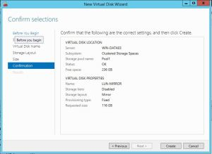Pool Virtual Disk