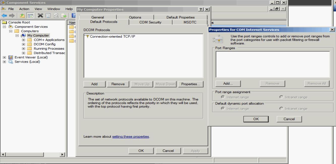 Notes on WMI ports & monitoring « rakhesh com