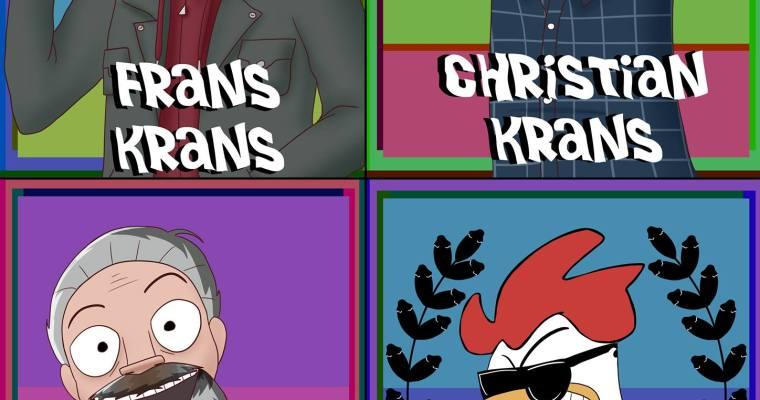 Gjester i neste ukes podcast! Frans Krans