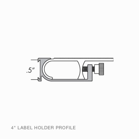 Rakks Label Holder