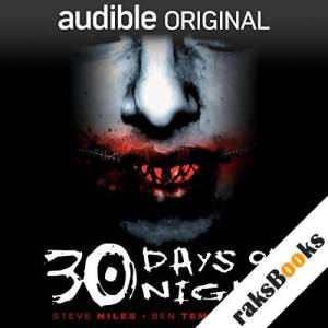 30 Days of Night audiobook cover art