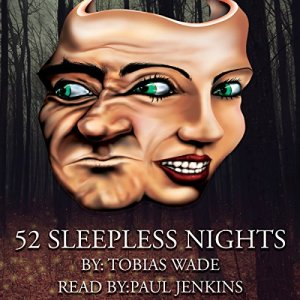 52 Sleepless Nights audiobook cover art