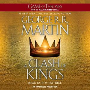 A Clash of Kings audiobook cover art