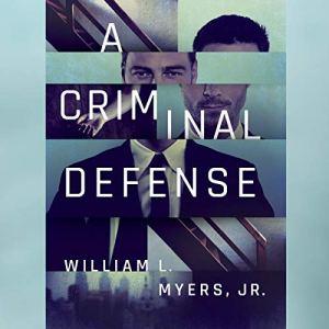 A Criminal Defense audiobook cover art