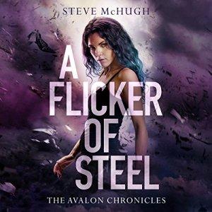 A Flicker of Steel audiobook cover art