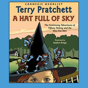 A Hat Full of Sky audiobook cover art
