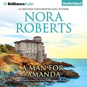 A Man for Amanda audiobook cover art