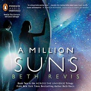 A Million Suns audiobook cover art