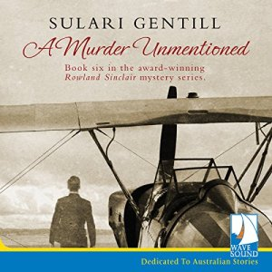 A Murder Unmentioned audiobook cover art