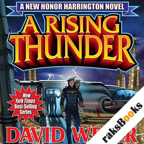 A Rising Thunder audiobook cover art