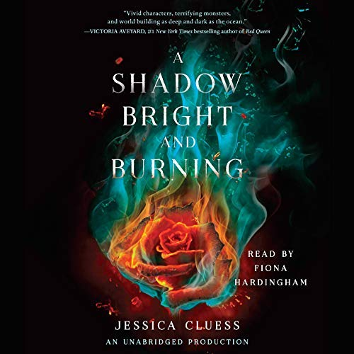 A Shadow Bright and Burning audiobook cover art