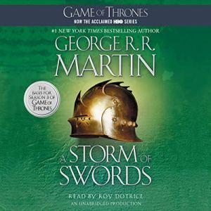A Storm of Swords audiobook cover art