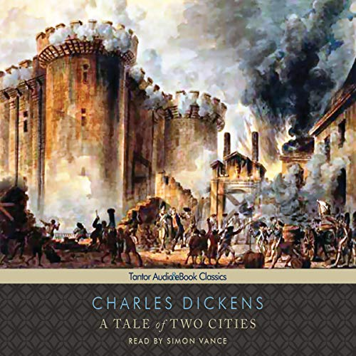 A Tale of Two Cities [Tantor] audiobook cover art