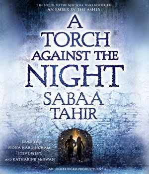 A Torch Against the Night audiobook cover art