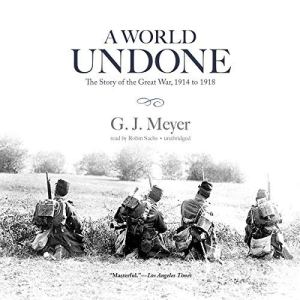 A World Undone audiobook cover art