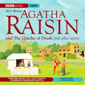 Agatha Raisin: The Quiche of Death and the Vicious Vet (Dramatisation) audiobook cover art