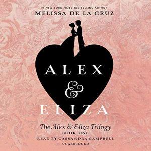 Alex and Eliza audiobook cover art