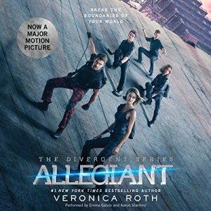 Allegiant audiobook cover art