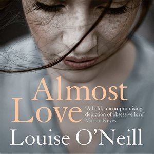 Almost Love audiobook cover art