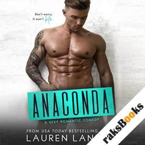 Anaconda audiobook cover art