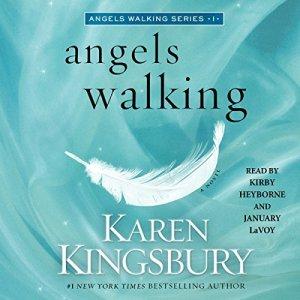 Angels Walking audiobook cover art