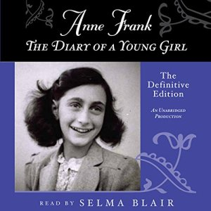 Anne Frank: The Diary of a Young Girl audiobook cover art