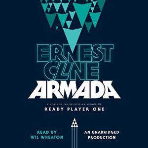 Armada audiobook cover art