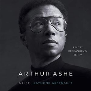 Arthur Ashe audiobook cover art